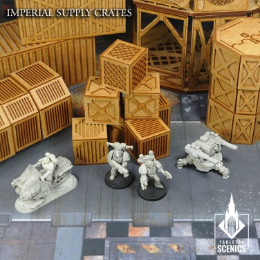 New release! Imperial Supply Crates