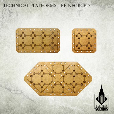 New release! Technical Platforms - Reinforced