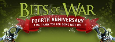 4th Anniversary - Bits of War - 20% discount!