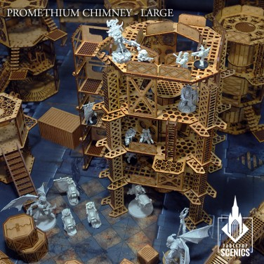 New release! Promethium Chimney - Large