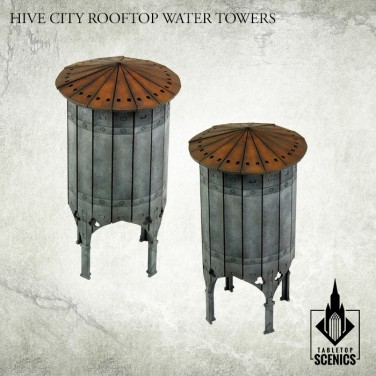 New release! Hive City Rooftop Water Towers