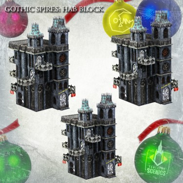 New relese! Hive City Hab Block Bundle