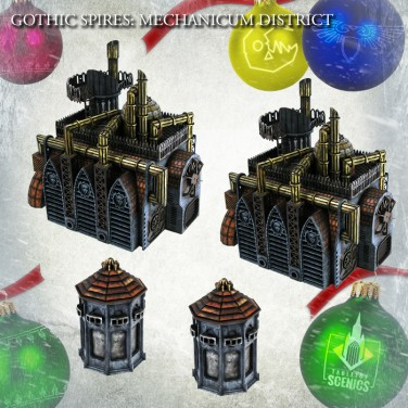 New relese! Hive City Mechanicum District Bundle