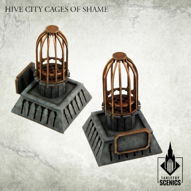 New release! Hive City Cages of Shame